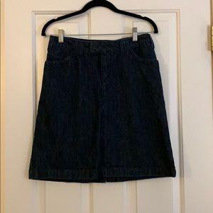 Eddie Bauer Denim Mini Skirt